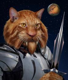 Kzinti Warrior