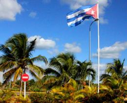 Windy day in CUBA