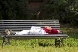 Nap outdoors