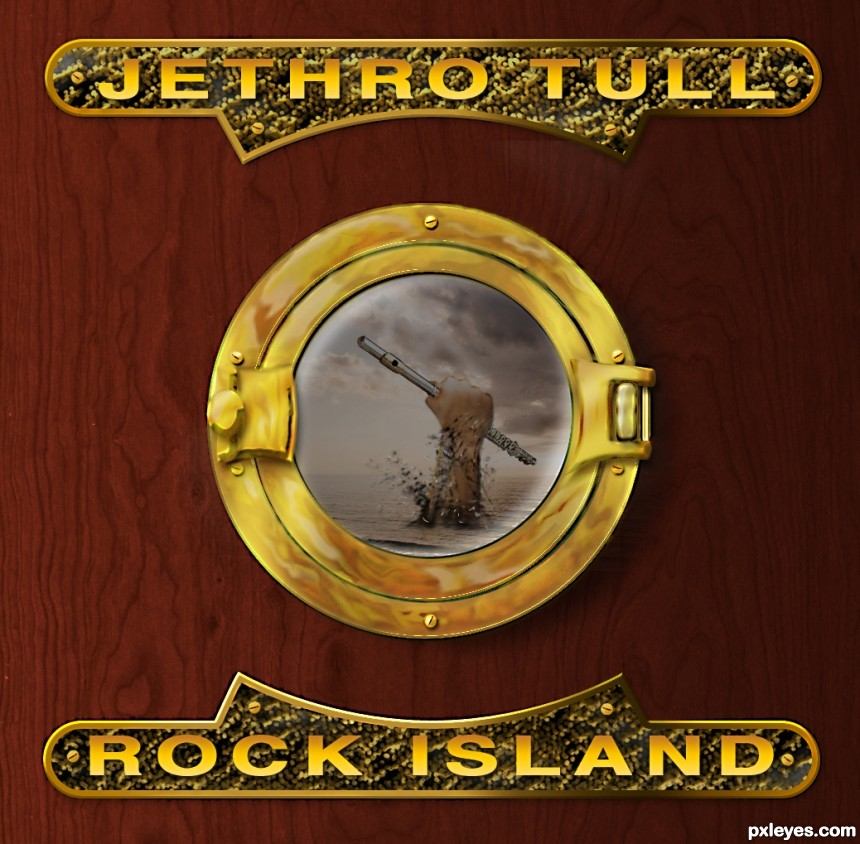 Jethro Tull: Rock Island photoshop picture)