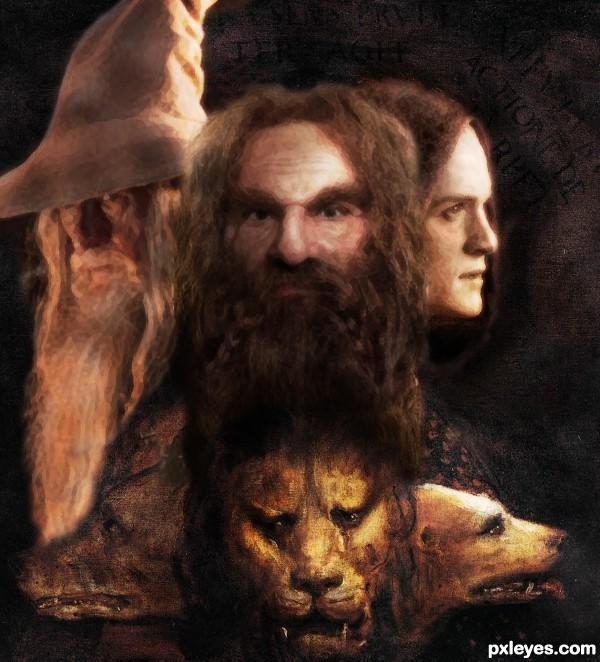 Titian meets Tolkien.