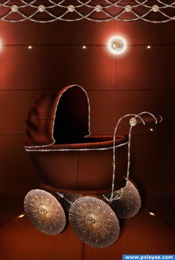 luxurious cart