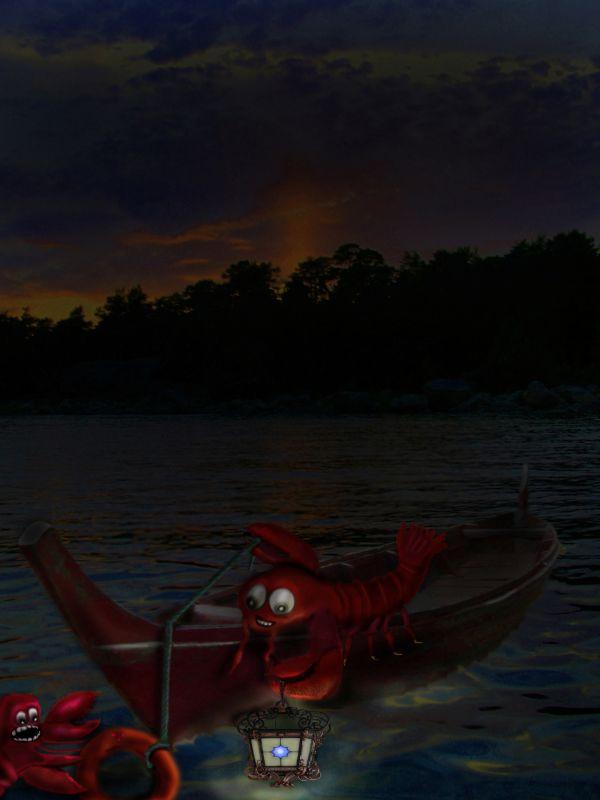 Lobster Overboard
