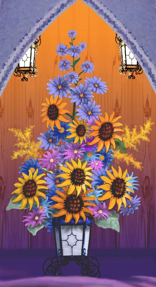 A Sunny, Sunflower Day