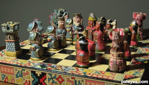 Certain battles should be only in chess