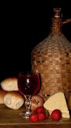 Flagon of wine