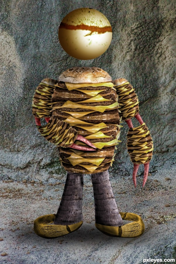 Cheeseburger Man