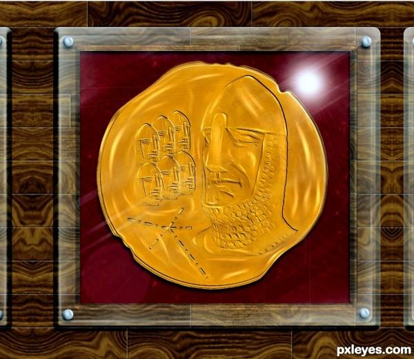 rare templar coin