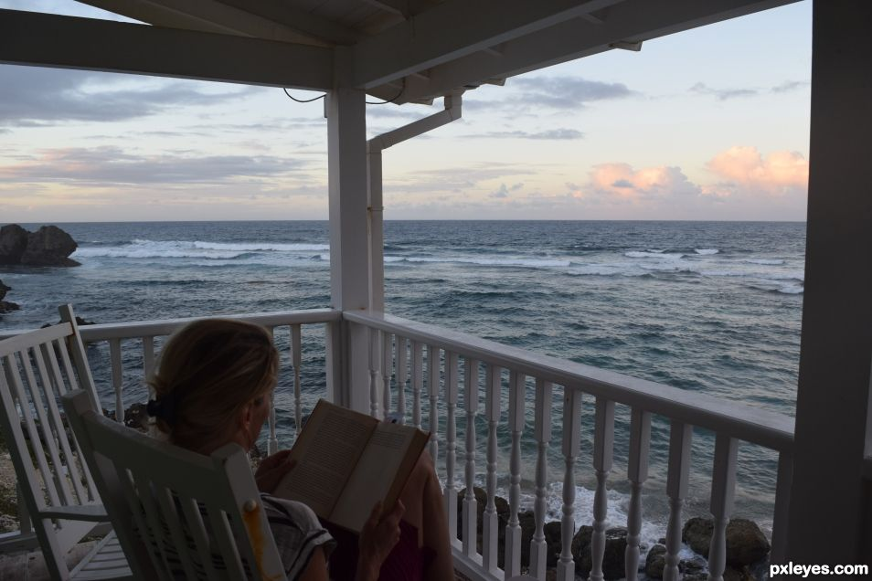 Reading in Barbados