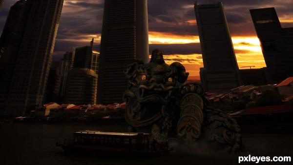 City Dragon