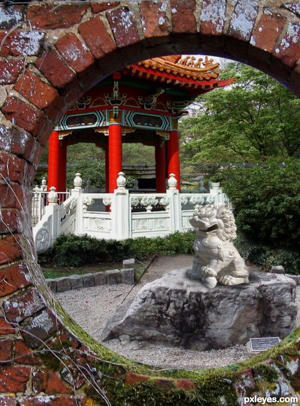 Creation of Chinese Garden: Final Result