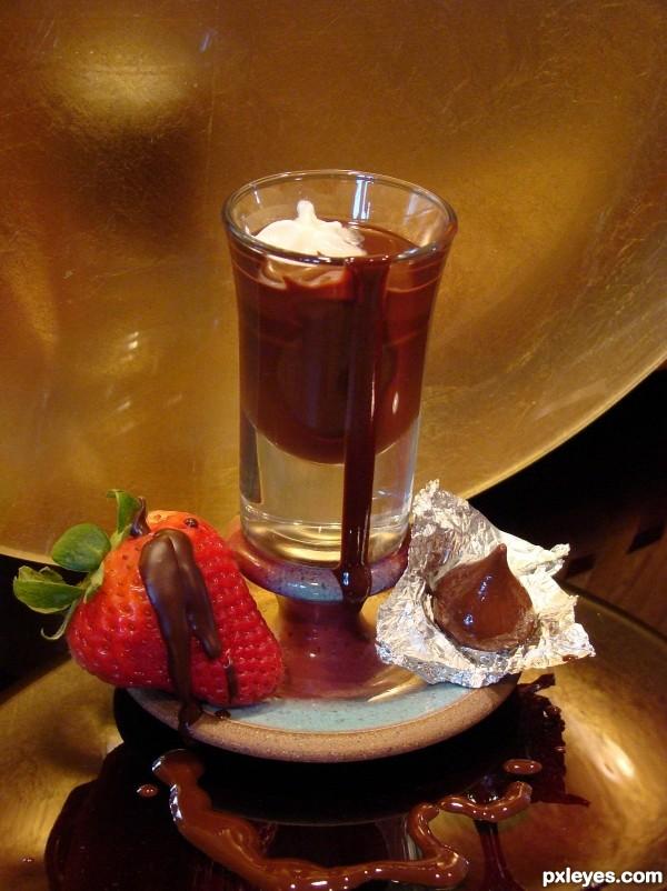Chocolate Shot Anyone...