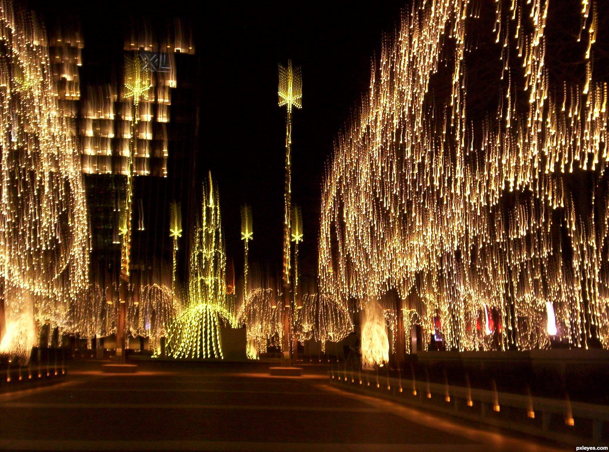 Festival of Lights 1 picture, by brownstones for: christmas deco ...