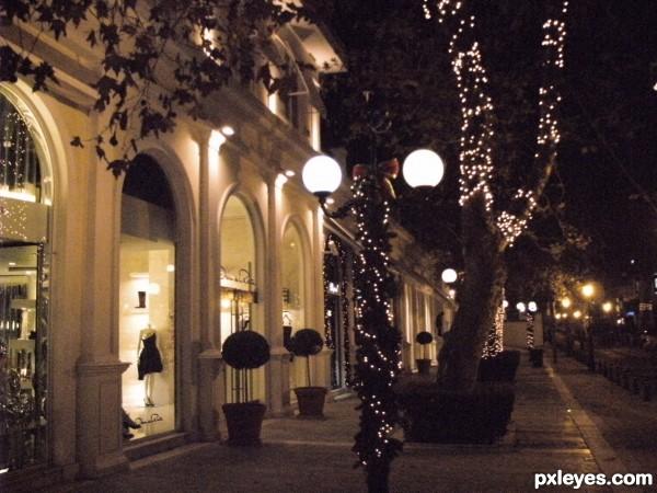 Festive shops