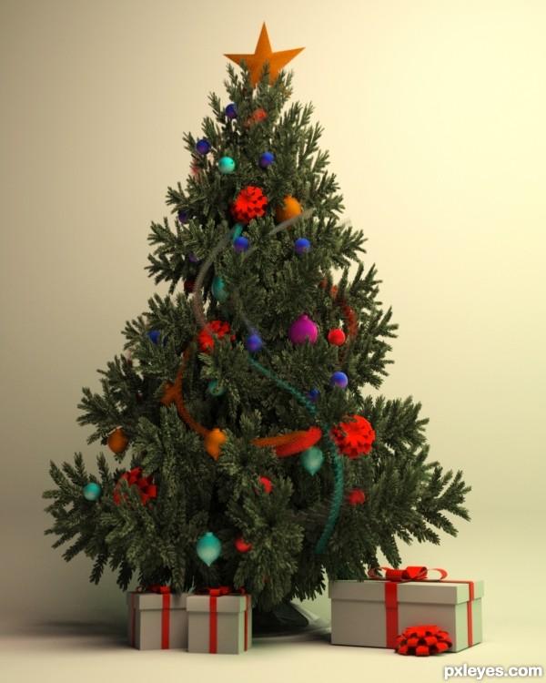 tree photo shoot