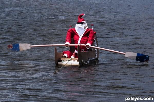Row, Row, Row Your Sleigh...