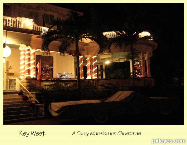 Key West Christmas Card