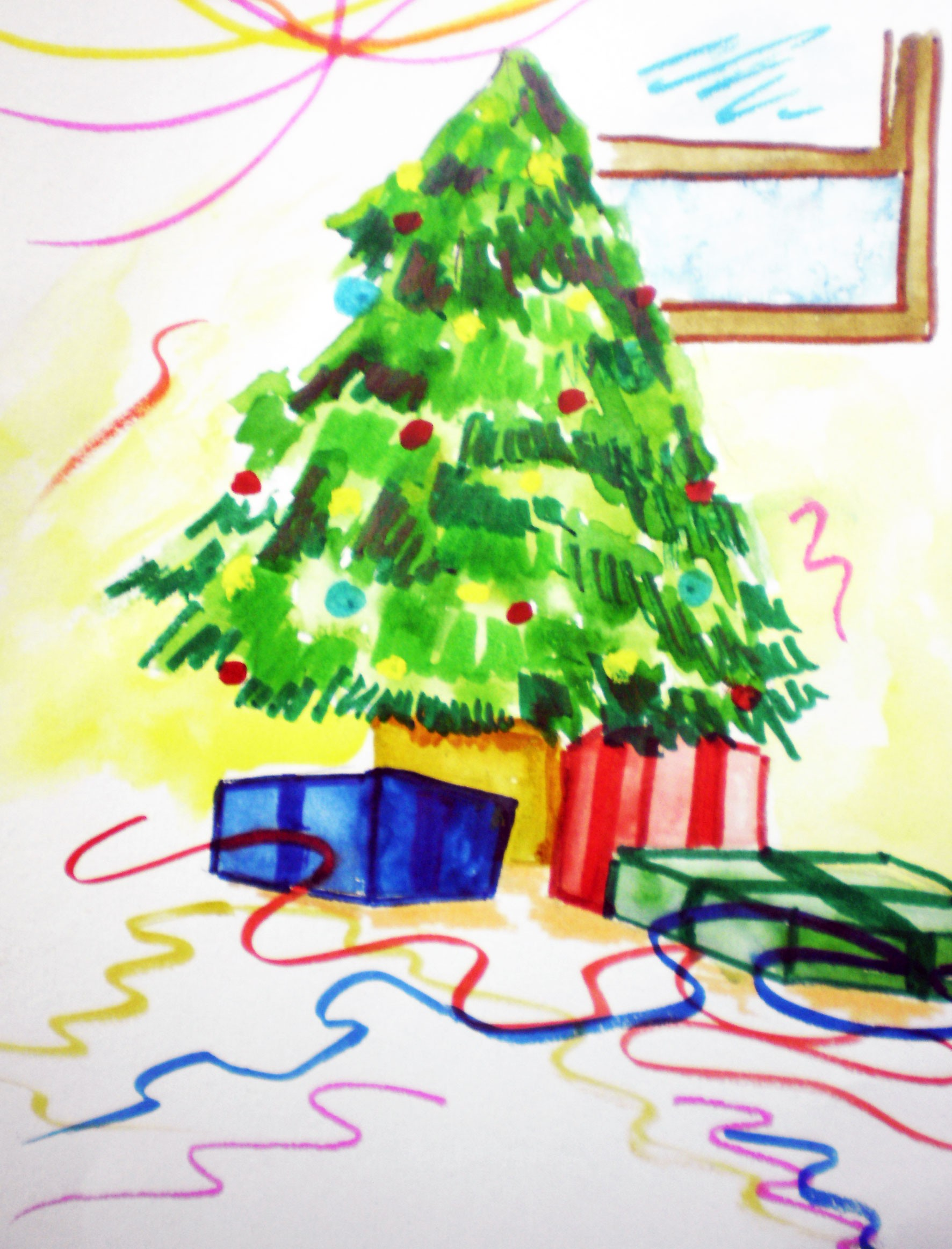 merry christmas picture by niks1351 for christmas drawing