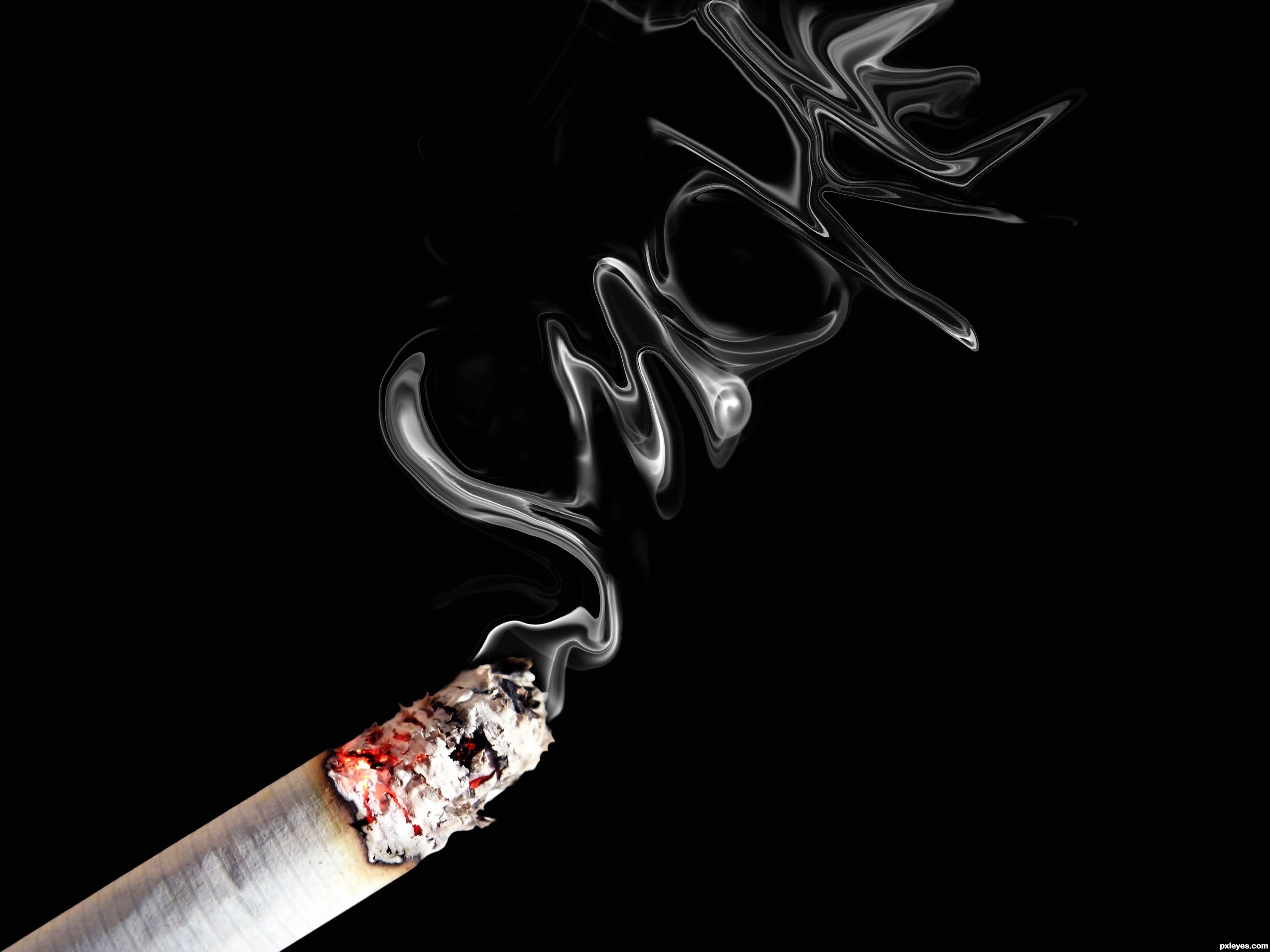 Cigarette Smoke Art | www.pixshark.com - Images Galleries ...
