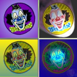 Warholesque Clowns