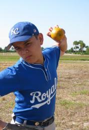 Pitching A Knuckleball Orange