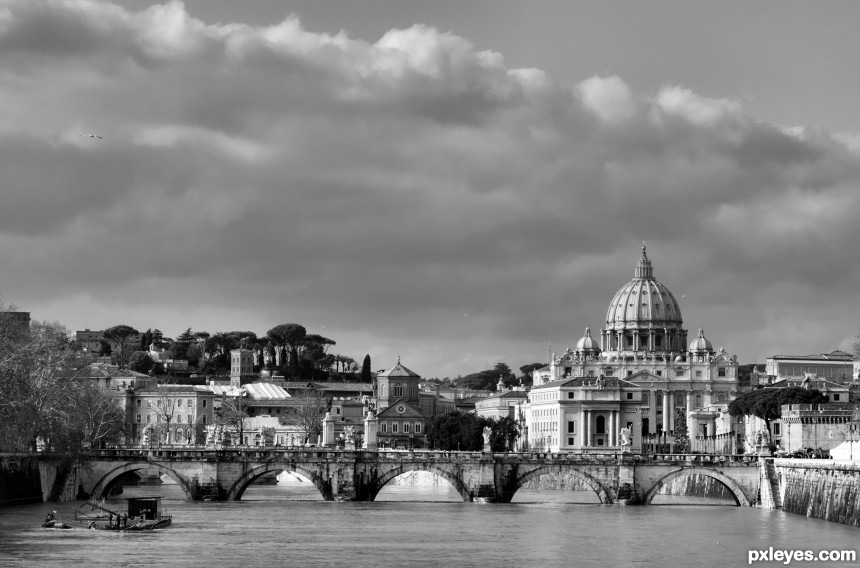 Roma photoshop picture)