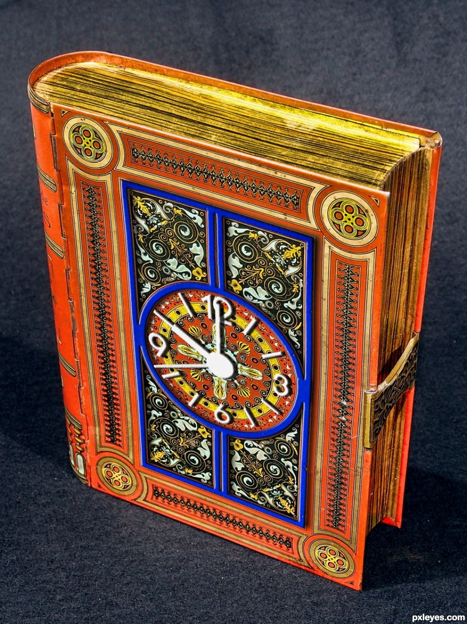 Book Box Clock