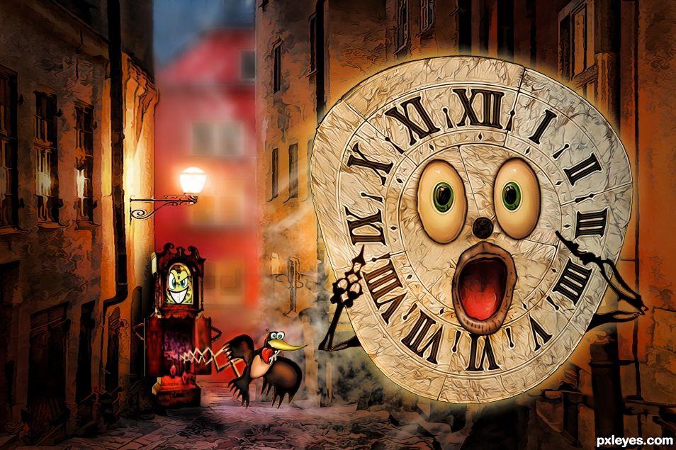 Alarmed Clock