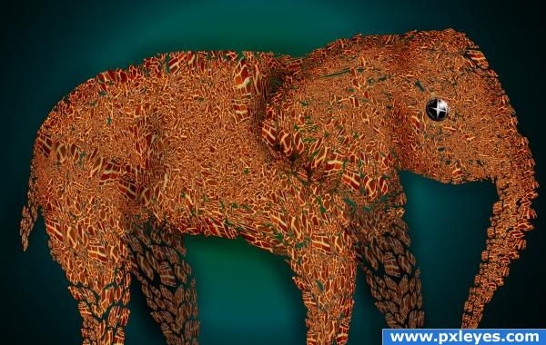 Brick Elephant