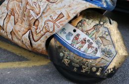 a Pharaonic motorcycle