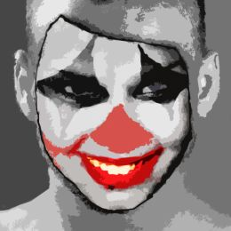Clown mask Picture