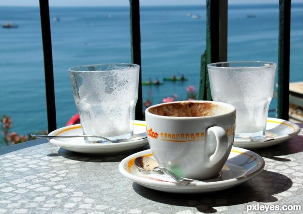 Coffee in the Riviera