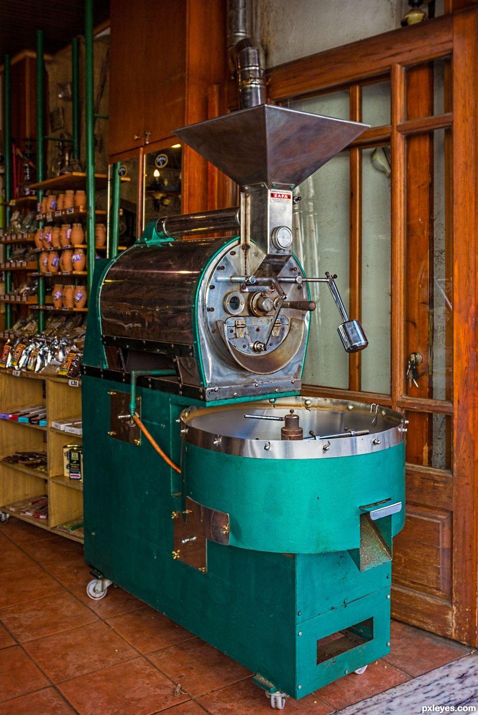 Coffee roaster Heraklion