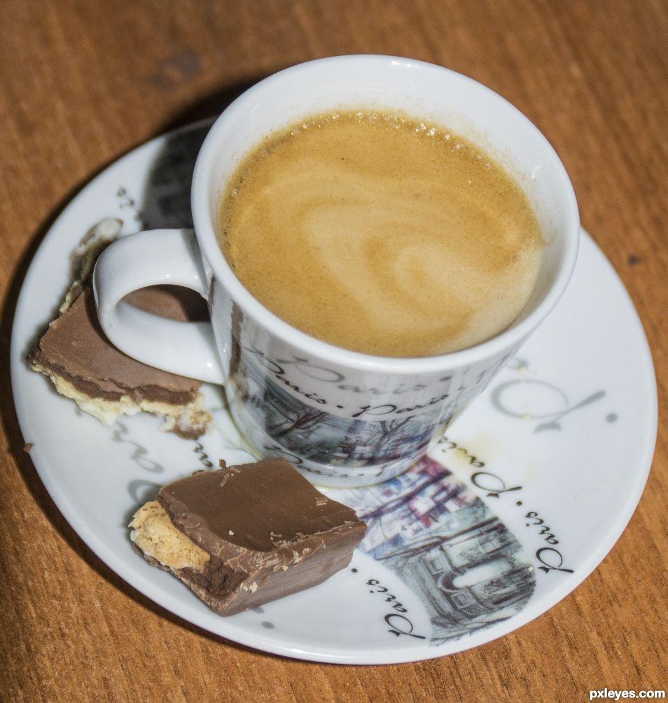 an espresso,  please..quickly