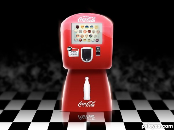 Hybrid Coke Machine