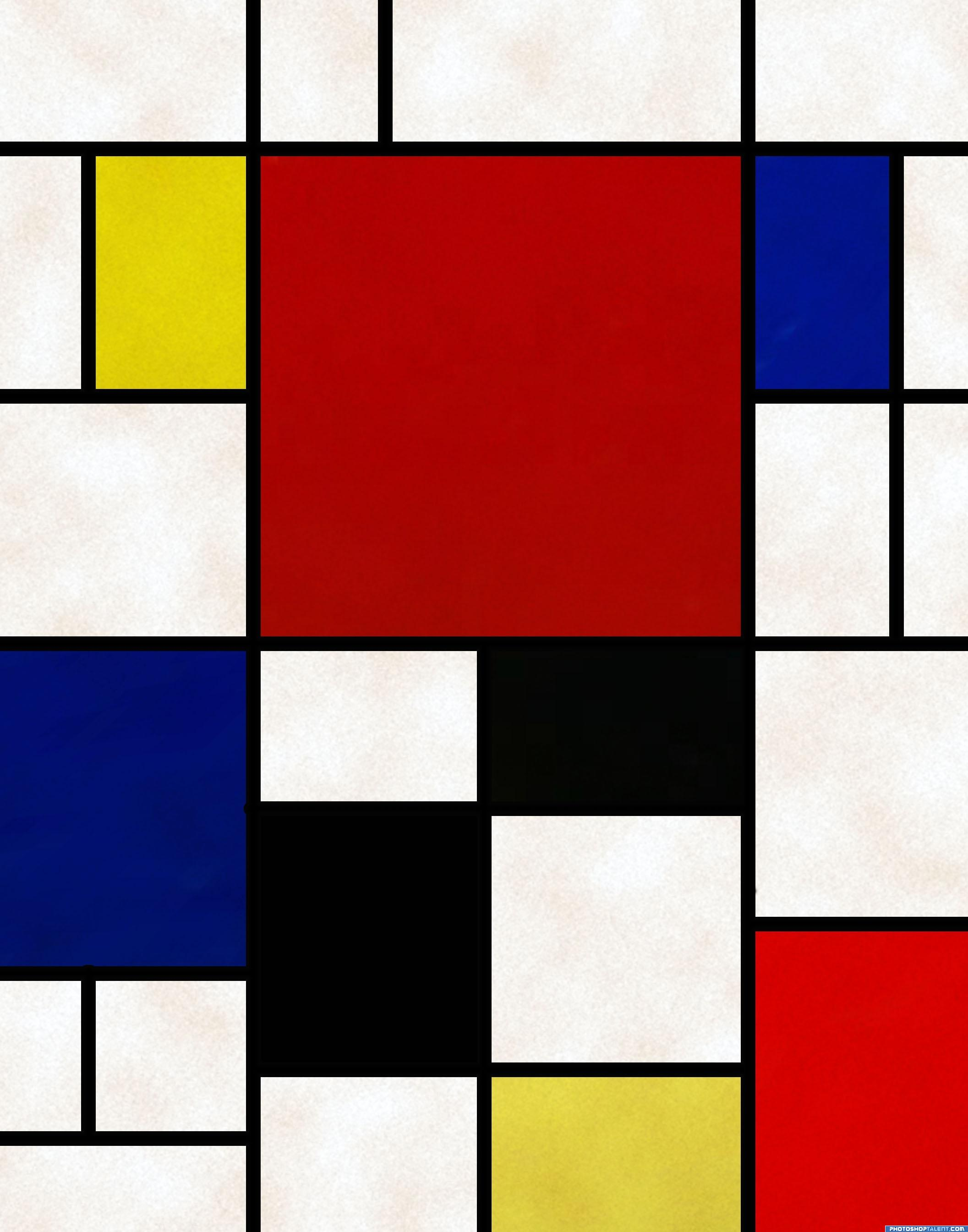 Mondrian Contest Pictures made with Photoshop - Image Page 1 ...