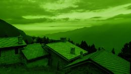 The day Sun became green