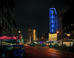 Granville Street Theatres Picture