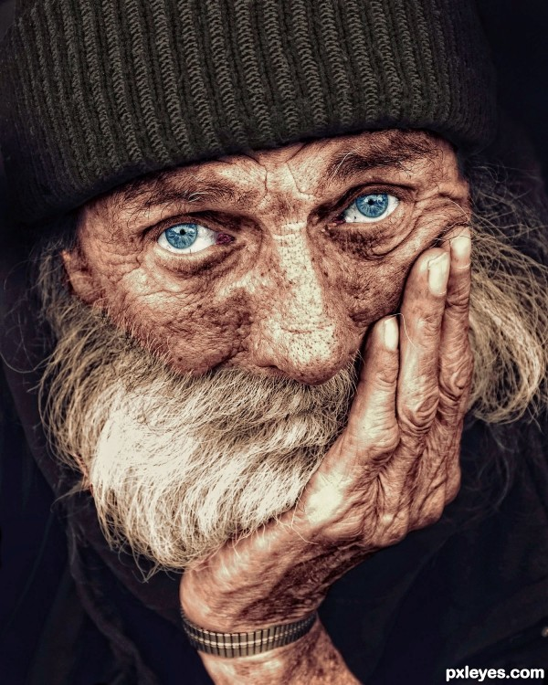 Old Man photoshop picture