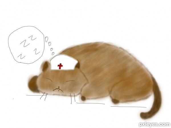 Lazy Cat Nurse