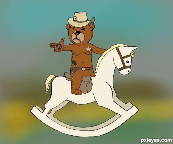 blind bear cowboy