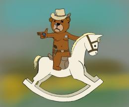 blind bear cowboy Picture
