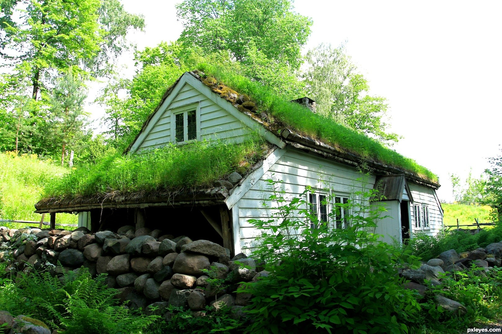 Grass house pictures to pin on pinterest pinsdaddy for House pictures
