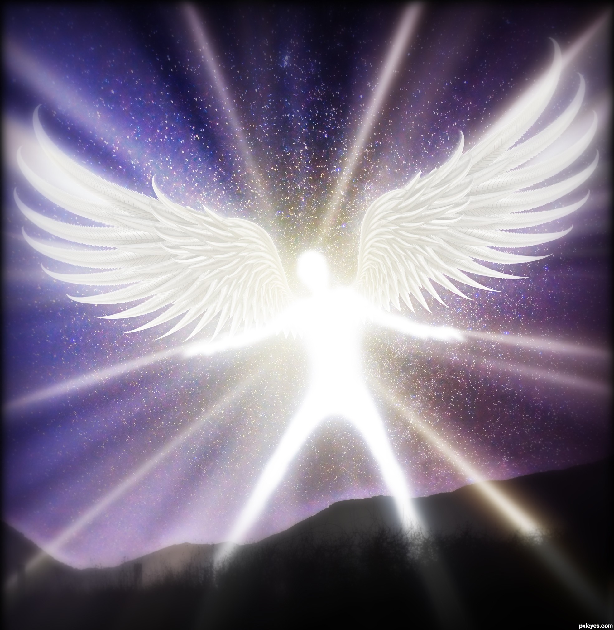 Angel of Light picture by Robart for containers photoshop