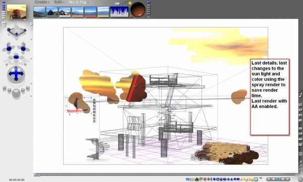 3d guide the making of la maison bateau - Creation maison 3d ...