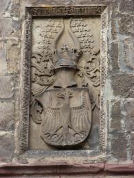 Corner stone in Nordhausen