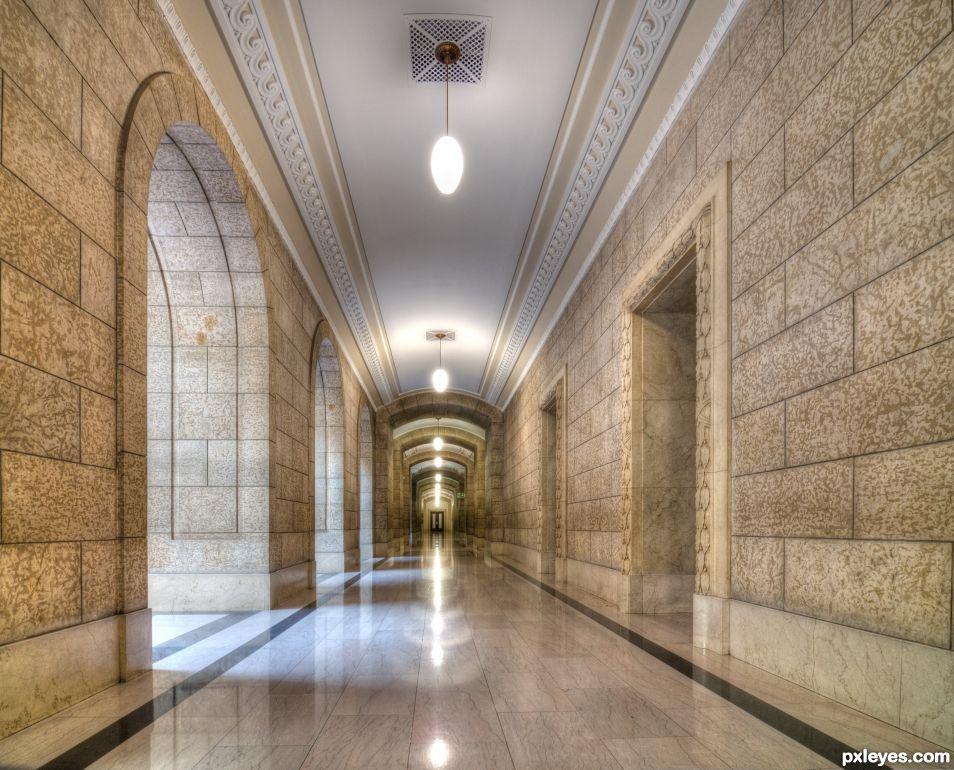 Legislature Building Corridor