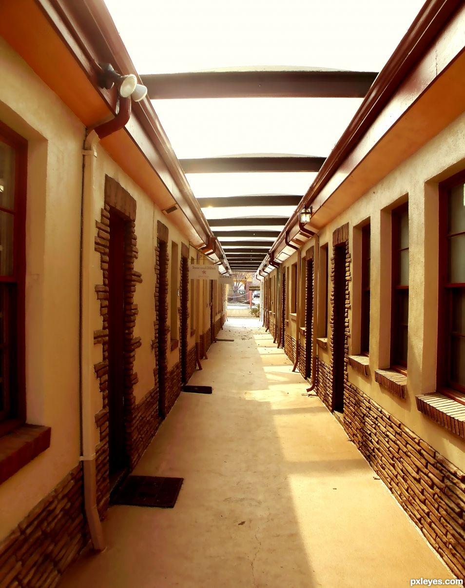 InDoor OutDoor Corridor
