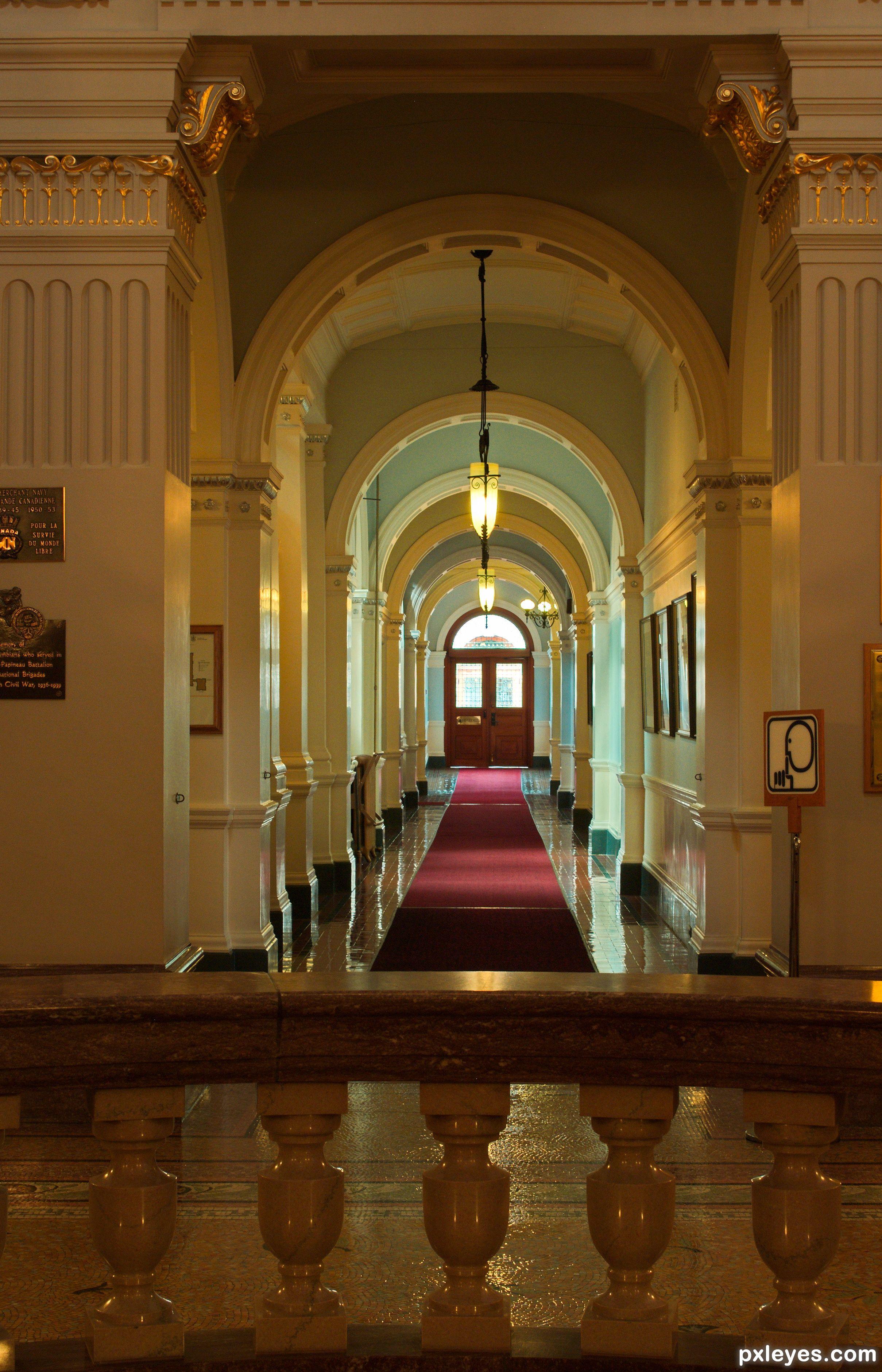 decorations pour le corridor Corridor of Arches
