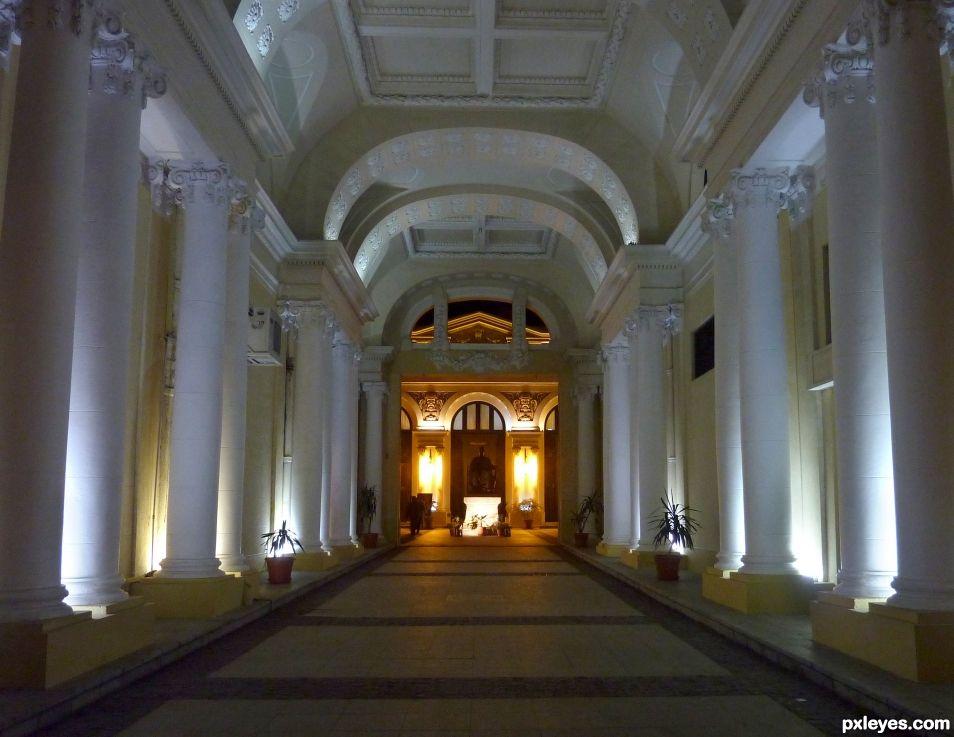 Corridor to the Opera Theatre